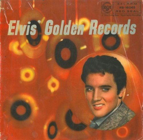 ELVIS PRESLEY Elvis' Golden Records Vinyl Record LP RCA Red Seal 1958